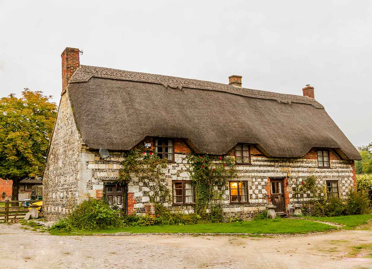 Cottages in Wiltshire